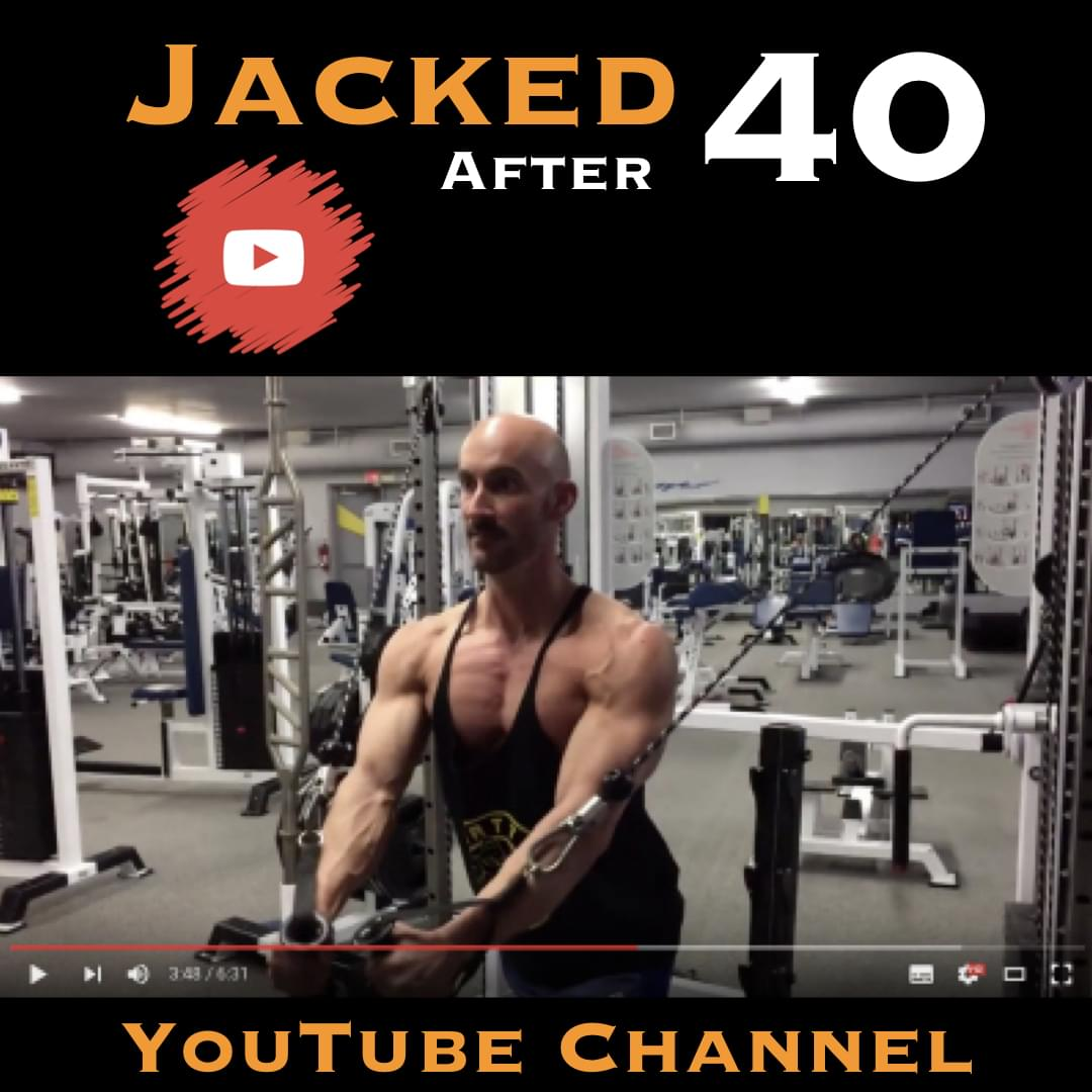Jacked After 40 YouTube channel